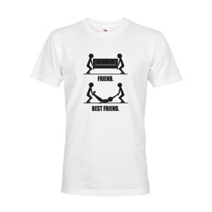 Triko s potiskem pro kamarády Best Friend ideální tričko na rozlučku