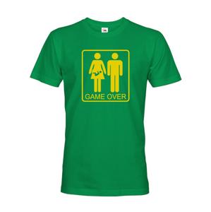 Vtipné tričko pro budoucí tatínky Game over - skvělý dárek